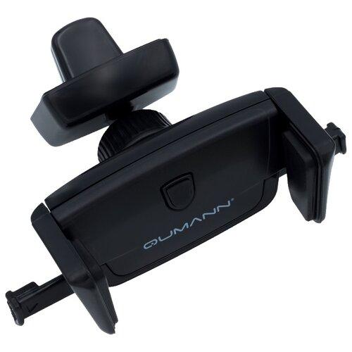 Держатель Qumann QHP-02 черныйДержатели для мобильных устройств<br>