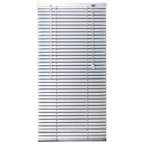 Горизонтальные жалюзи Эскар алюминиевые, 80х160 см жалюзи эскар горизонтальные цвет белый ширина 140 см высота 160 см 5008140160