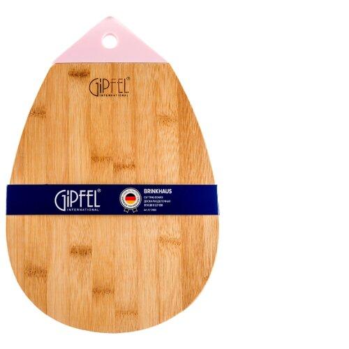 Разделочная доска GIPFEL 3468 BRINKHAUS 31х20 см розовый доска разделочная gipfel 3237 rowland 33х20см