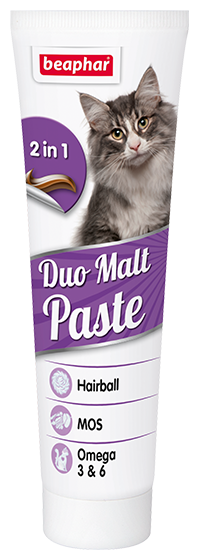 Добавка в корм Beaphar Duo Malt Paste для кошек 100 г