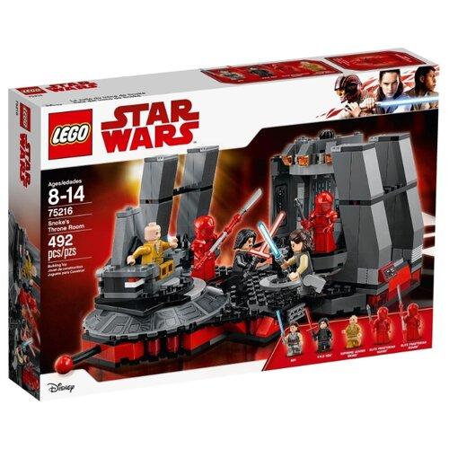 Купить Конструктор LEGO Star Wars 75216 Тронный зал Сноука, Конструкторы