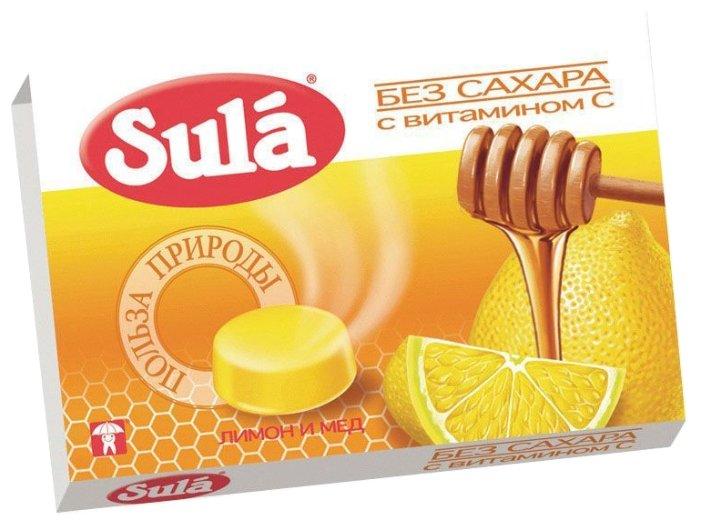 Леденцы Sula Лимон и мед 18 г
