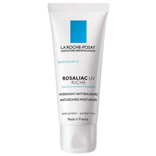 цена La Roche-Posay Rosaliac UV Riche Увлажняющее средство для усиления защитной функции кожи лица, склонной к покраснениям, 40 мл онлайн в 2017 году