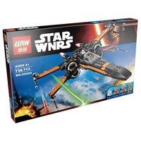 Конструктор Lepin 05004 Истребитель X-Wing «По» - Star Wars Poe's X-Wing Fighter