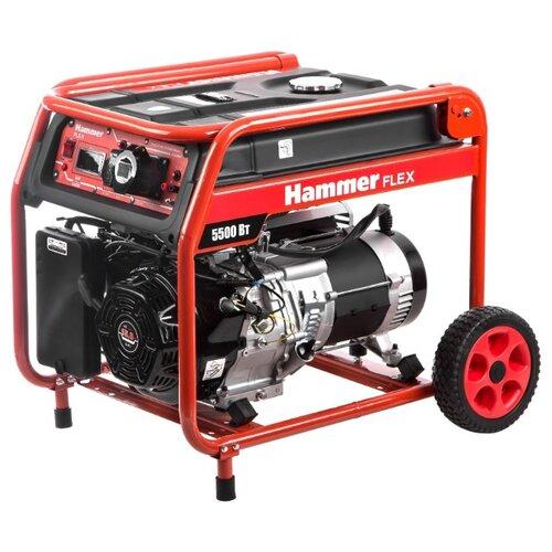 Фото - Бензиновый генератор Hammer GN6000T (5000 Вт) бензиновый генератор тсс sgg 5000 eh 5000 вт
