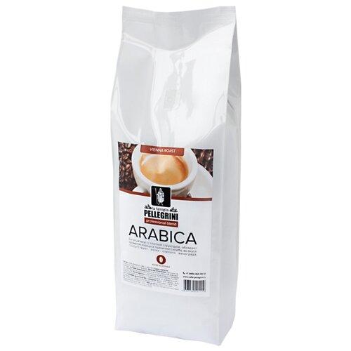Кофе в зернах la famiglia Pellegrini ARABICA professional blend, арабика, 1000 г кофе в зернах la famiglia pellegrini barista professional blend арабика робуста 1000 г