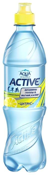 Вода питьевая Aqua Minerale Active негазированная Цитрус, спорт ПЭТ