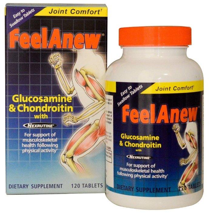 Препарат для укрепления связок и суставов Natrol Feel-A-New 120 шт.