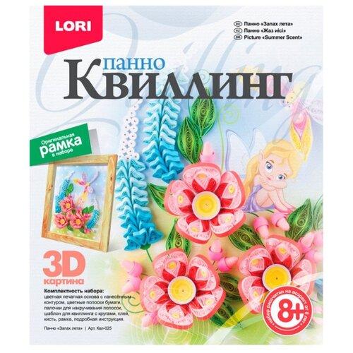Фото - LORI Набор для квиллинга Запах лета Квл-025 розовый/голубой/зеленый lori набор для квиллинга солнечные цветы квл 001 зеленый оранжевый