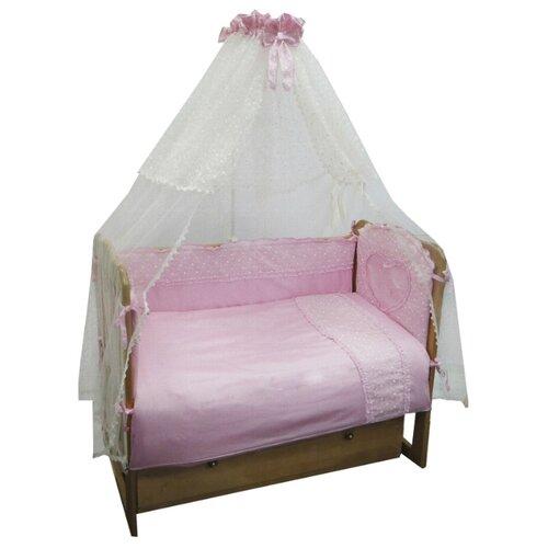 Sonia Kids комплект Нарядный (7 предметов) розовыйПостельное белье и комплекты<br>