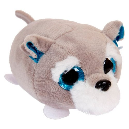 Мягкая игрушка ABtoys Собачка серая 5 см