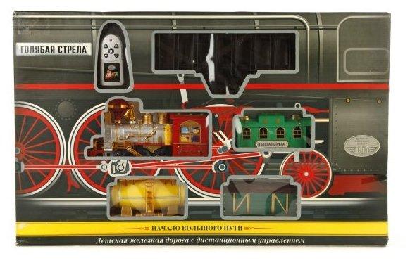 железная дорога Голубая стрела Стартовый набор, GS-87166