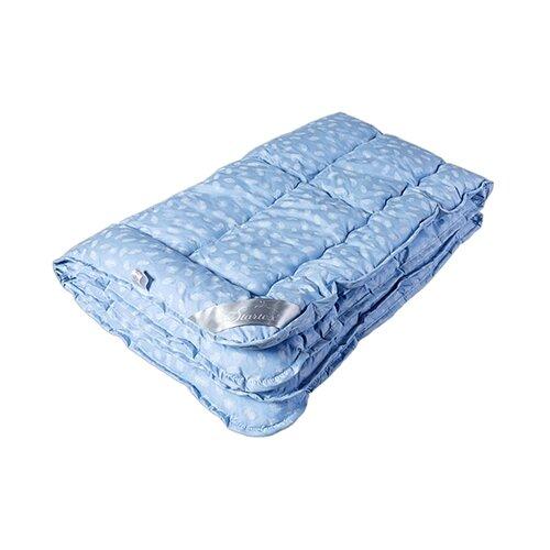 цена Одеяло DREAM TIME Лебяжий пух хлопок, легкое, 172 х 205 см (голубой) онлайн в 2017 году