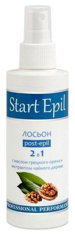 Aravia Лосьон 2 в 1 Start Epil против вросших волос и замедления роста с маслом грецкого ореха и экстрактом чайного дерева