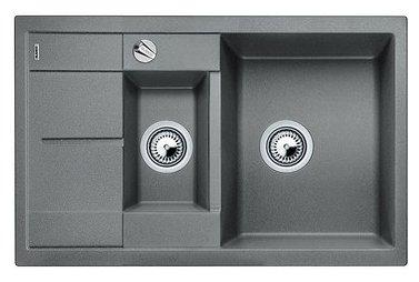 Врезная кухонная мойка Blanco Metra 6S Compact 78х50см