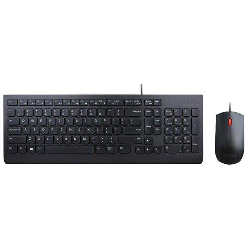 Клавиатура и мышь Lenovo Essential Wired Combo 4X30L79912 Black USB