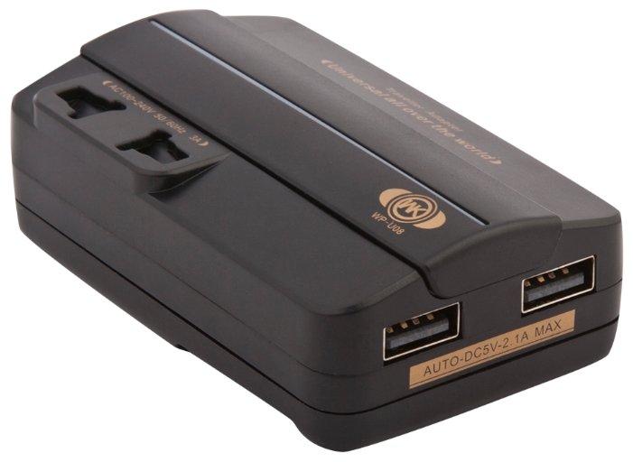 Сетевая зарядка WK Travel Adapter 2 USB (WP-U08)