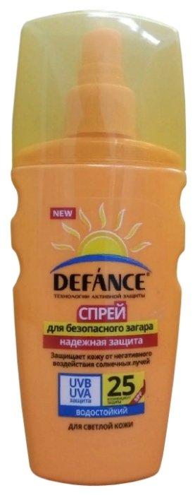 Defance Спрей для безопасного загара SPF 25