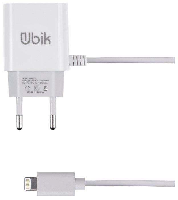Сетевая зарядка Ubik UHS22L
