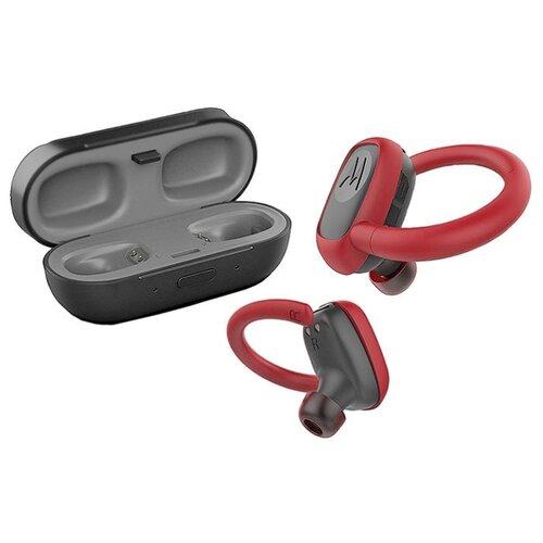Наушники Motorola Stream Sport redНаушники и Bluetooth-гарнитуры<br>