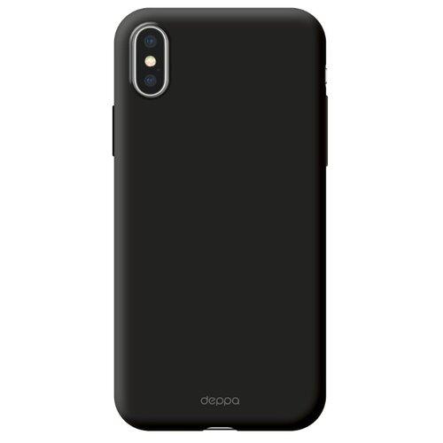 Фото - Чехол-накладка Deppa Air Case для Apple iPhone X/Xs черный чехол deppa air case для apple iphone x xs синий