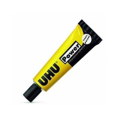Клей универсальный UHU Kraft Power Transparent 45083/В 6 г клей универсальный uhu allplast 48426 в 6 г