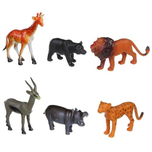 Фигурки BONDIBON Ребятам о зверятах - Дикие животные ВВ1609 bondibon ребятам о зверятах дикие животные вв3136