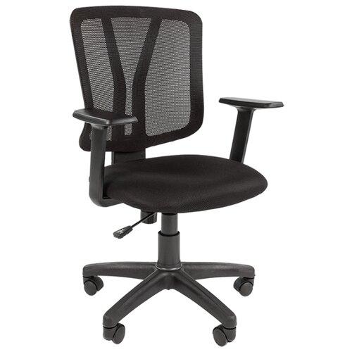 Фото - Компьютерное кресло Chairman 626 офисное, обивка: текстиль, цвет: черный дутики для девочки biki цвет черный a b23 33 c размер 34