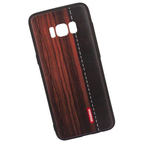 Чехол WK WK13 для Samsung Galaxy S8 красное дерево