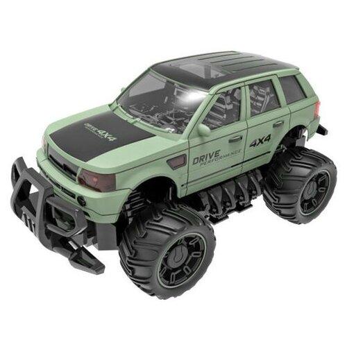 Купить Внедорожник Пламенный мотор ПМ 040 (870258) 1:18 23 см зеленый, Радиоуправляемые игрушки