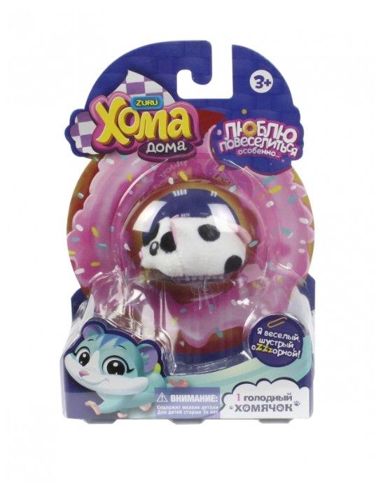 Игровой набор 1 TOY Хома Дома - Черно-белый хомячок Т12499