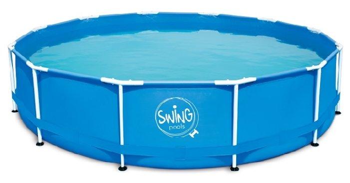 Бассейн Azuro Круглый Swing Frame Splash 3.66 х 0.91
