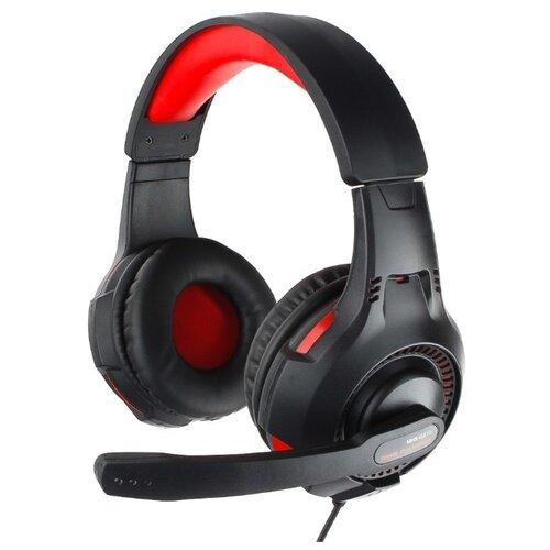 Компьютерная гарнитура Gembird MHS-G210 черный/красный гарнитура