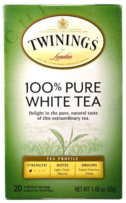 Чай белый Twinings Pure white в пакетиках