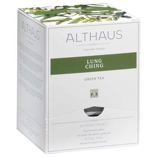 Чай зеленый Lung Ching в пирамидках , 15 шт. newby hunan green зеленый чай в пирамидках 15 шт