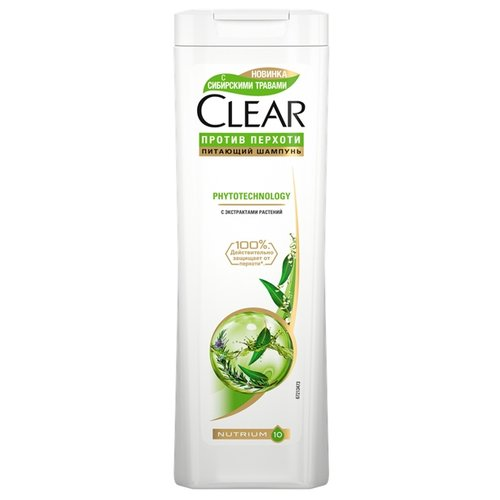 Clear vita Abe шампунь против перхоти для женщин Phytotechnology 400 млШампуни<br>