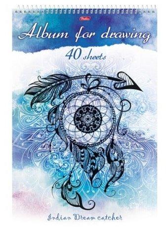 Альбом для рисования Hatber Ловец снов 29.7 х 21 см (A4), 100 г/м², 40 л.