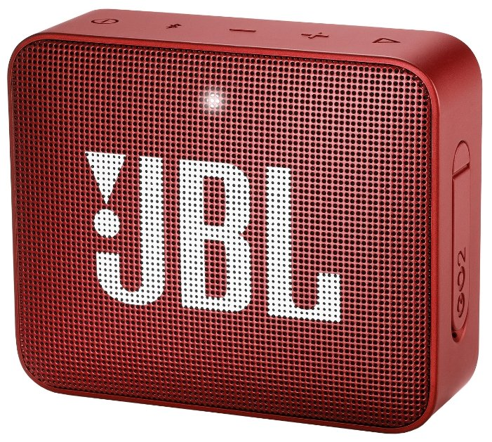 Портативная акустика JBL GO 2 ruby red