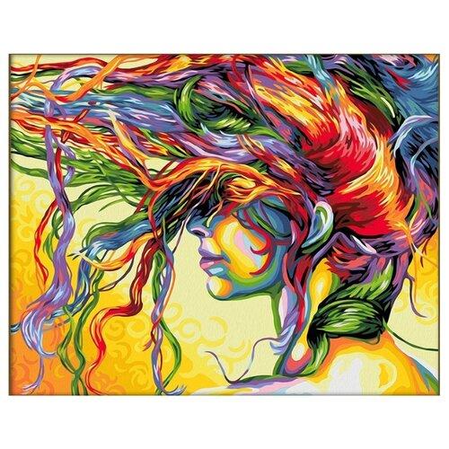 Алмазная живопись Набор алмазной вышивки Краски ветра (АЖ-1598) 50х40 смАлмазная вышивка<br>