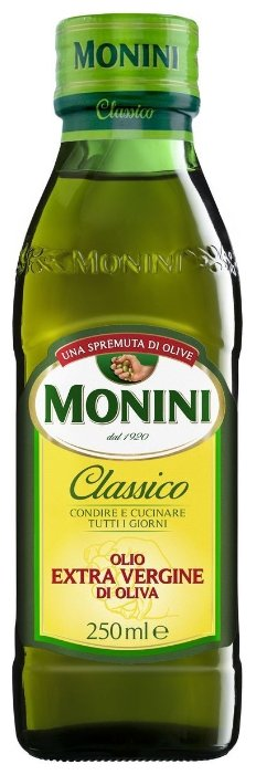 Масло оливковое Monini Extra Virgin, 250мл