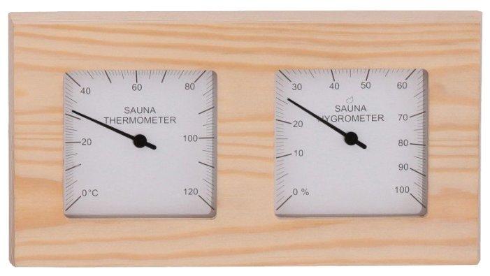 Термогигрометр SAWO 224-THD (квадратный) (Кедр (D), 255x35x140 мм)