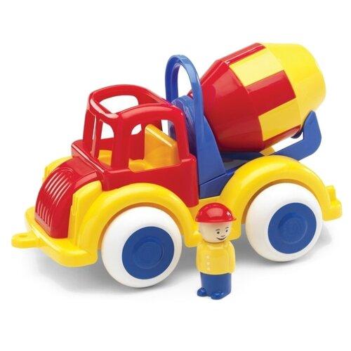 Купить Бетономешалка Viking Toys Jumbo (1253/701253) 25 см красный/желтый/синий/зеленый, Машинки и техника