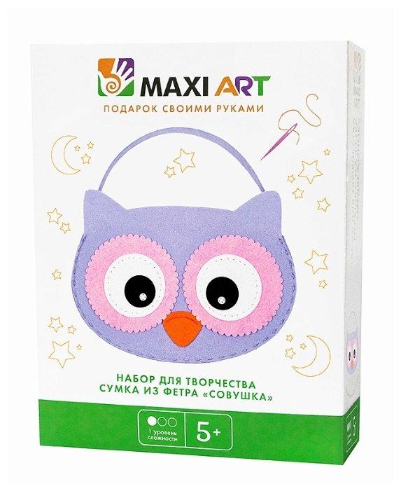 Maxi Art Набор для творчества Сумка из фетра Совушка (МА-A0287)