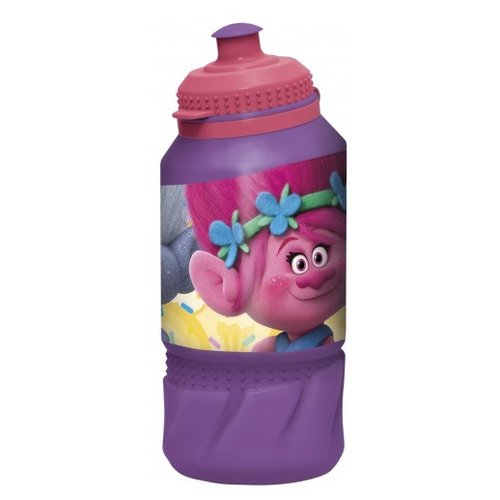 Бутылка для воды, для безалкогольных напитков Stor спортивная 0.42 пластик Тролли