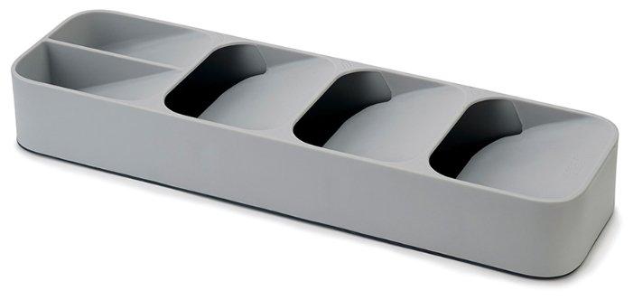 Органайзер для столовых приборов JOSEPH JOSEPH DrawerStore компактный, серый