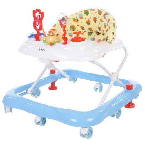 Ходунки Baby Care Mario белый/голубой baby care baby care ходунки walker розовые