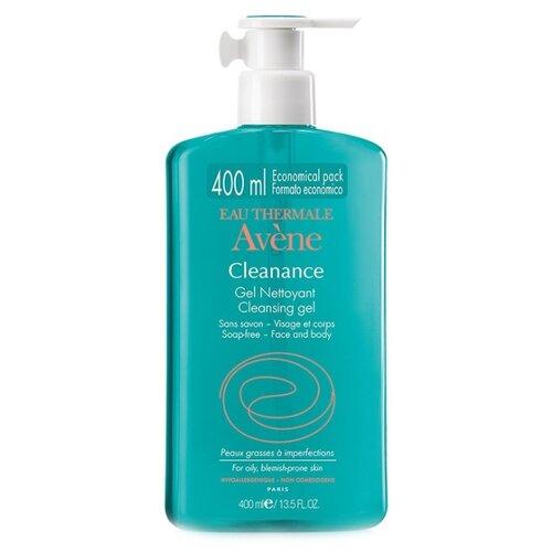 AVENE Cleanance Очищающий гель, 400 мл очищающий матирующий лосьон avene cleanance 200 мл