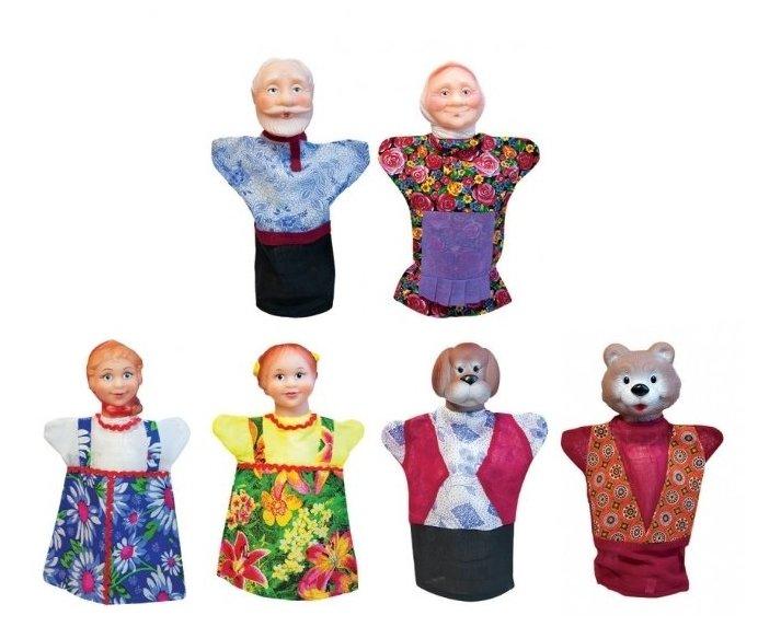 Русский стиль Кукольный театр Маша и медведь, 11203