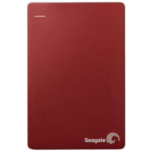 Внешний HDD Seagate Backup Plus Slim Portable Drive 1 ТБ красный