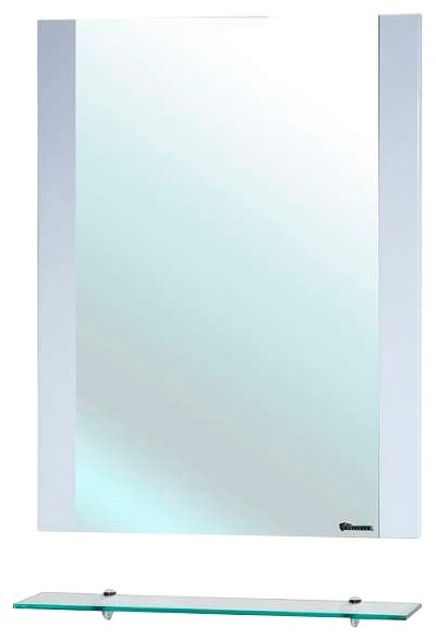 Зеркало Bellezza Рокко 50 белый без рамы